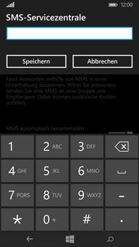 Microsoft Lumia 640 XL - SMS - Manuelle Konfiguration - Schritt 8