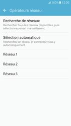 Samsung Galaxy S7 - Réseau - Sélection manuelle du réseau - Étape 8