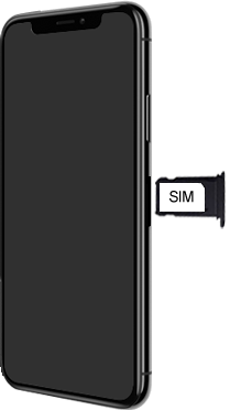 Apple iPhone XS Max - Device - Insert SIM card - Step 4