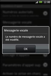 HTC A6262 Hero - Messagerie vocale - Configuration manuelle - Étape 7