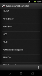 Sony Xperia T - MMS - Manuelle Konfiguration - Schritt 11