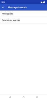Wiko View 2 Plus - Messagerie vocale - configuration manuelle - Étape 9