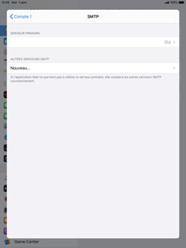 Apple iPad Air 2 - ipados 13 - E-mail - configuration manuelle - Étape 20