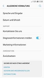 Samsung Galaxy A5 (2017) - Fehlerbehebung - Handy zurücksetzen - 0 / 0