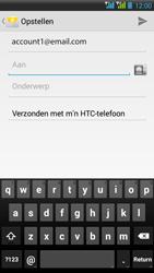 HTC Desire 516 - E-mail - E-mails verzenden - Stap 6