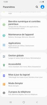 Samsung Galaxy A42 5G - Aller plus loin - Mettre à jour le logiciel interne de votre mobile - Étape 5