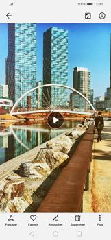 Huawei P Smart 2020 - Photos, vidéos, musique - Créer une vidéo - Étape 15
