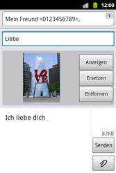 Samsung Galaxy Xcover - MMS - Erstellen und senden - 16 / 18