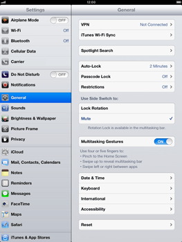 Apple iPad Retina - Mobile phone - Resetting to factory settings - Step 4