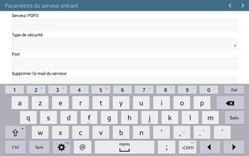 Samsung T535 Galaxy Tab 4 10.1 - E-mail - configuration manuelle - Étape 9