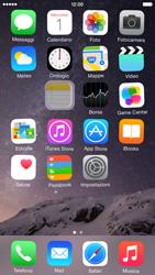 Apple iPhone 6 iOS 8 - Operazioni iniziali - Personalizzazione della schermata iniziale - Fase 4