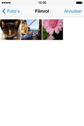 Apple iPhone 4 S iOS 7 - MMS - Afbeeldingen verzenden - Stap 10