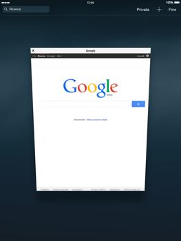 Apple iPad mini - iOS 8 - Internet e roaming dati - Uso di Internet - Fase 15