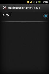 Sony Xperia Tipo Dual - MMS - Manuelle Konfiguration - Schritt 9
