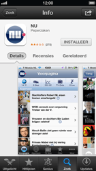 Apple iPhone 5 (iOS 6) - apps - app store gebruiken - stap 7