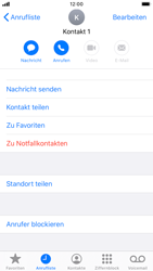 Apple iPhone 6s - iOS 13 - Anrufe - Anrufe blockieren - Schritt 5