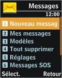 Samsung J700 - E-mail - Envoi d