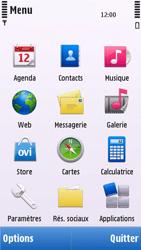 Nokia C5-03 - Messagerie vocale - configuration manuelle - Étape 4