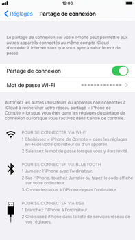 Apple iPhone 7 Plus - iOS 13 - WiFi - Comment activer un point d'accès WiFi - Étape 8