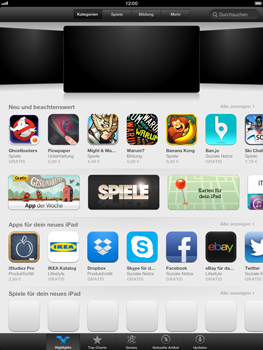 Apple iPad 4 - Apps - Herunterladen - 3 / 20