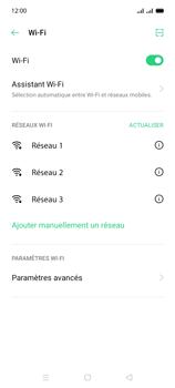 Oppo A15 - Internet et connexion - Accéder au réseau Wi-Fi - Étape 6