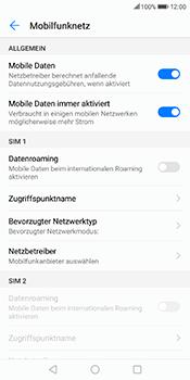 Huawei Mate 10 Lite - Internet - Manuelle Konfiguration - 7 / 26