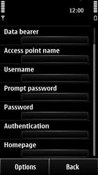 Nokia 500 - Internet - Manual configuration - Step 14