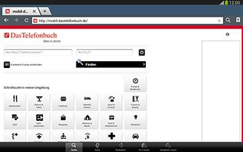 Samsung Galaxy Tab 3 10-1 LTE - Internet und Datenroaming - Verwenden des Internets - Schritt 12