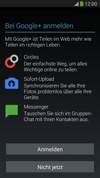 Samsung Galaxy Note 3 LTE - Apps - Konto anlegen und einrichten - 13 / 22