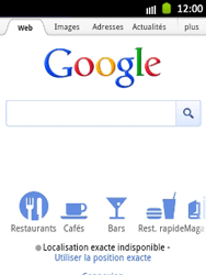 Samsung S5300 Galaxy Pocket - Internet - navigation sur Internet - Étape 4