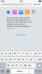 Apple iPhone 6 iOS 8 - Internet et roaming de données - Navigation sur Internet - Étape 5
