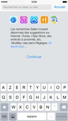 Apple iPhone 6 iOS 8 - Internet et roaming de données - Navigation sur Internet - Étape 4