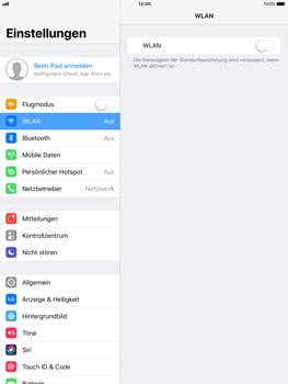 Apple ipad-pro-9-7-inch-mit-ios-11 - WLAN - Manuelle Konfiguration - Schritt 4