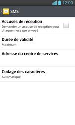 LG P710 Optimus L7 II - SMS - configuration manuelle - Étape 7