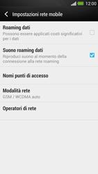 HTC One - Rete - Selezione manuale della rete - Fase 7