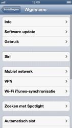 Apple iPhone 5 - Internet - Dataroaming uitschakelen - Stap 4