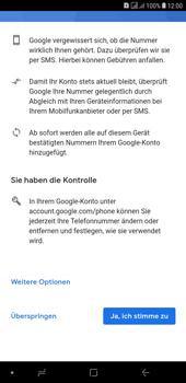 Samsung Galaxy J4+ - Apps - Konto anlegen und einrichten - 15 / 22