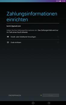 Huawei MediaPad T1 (10.0) LTE - Apps - Konto anlegen und einrichten - 2 / 2