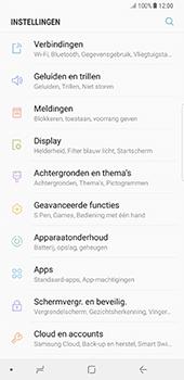 Samsung N950F Galaxy Note 8 - Netwerk - 4G activeren - Stap 4