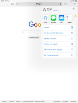 Apple iPad Air (2019) - iPadOS 13 - Internet et roaming de données - Navigation sur Internet - Étape 6