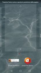 Huawei P10 - Operazioni iniziali - Installazione di widget e applicazioni nella schermata iniziale - Fase 6
