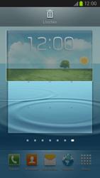 Samsung Galaxy S III LTE - Startanleitung - Installieren von Widgets und Apps auf der Startseite - Schritt 6