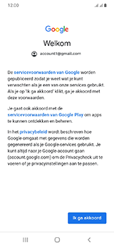 Samsung Galaxy A20e - E-mail - e-mail instellen (gmail) - Stap 11