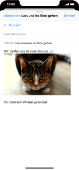 Apple iPhone XS Max - E-Mail - E-Mail versenden - 14 / 16