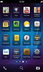BlackBerry Z10 - Internet et connexion - Partager votre connexion en Wi-Fi - Étape 3