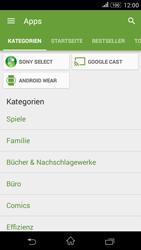 Sony Xperia E4G - Apps - Herunterladen - 0 / 0
