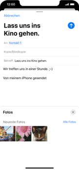 Apple iPhone 11 - E-Mail - E-Mail versenden - Schritt 11