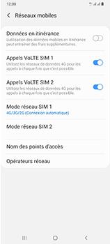 Samsung Galaxy A70 - Internet et connexion - Activer la 4G - Étape 8
