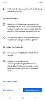 Samsung Galaxy Note 20 5G - Apps - Einrichten des App Stores - Schritt 14