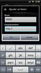 Sony Xperia Ray - Internet - Navigation sur Internet - Étape 9